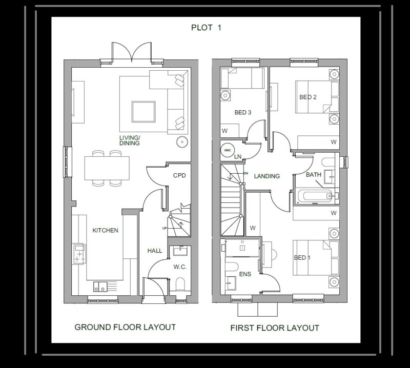 PLOT 1 HAYWARDS HEATH