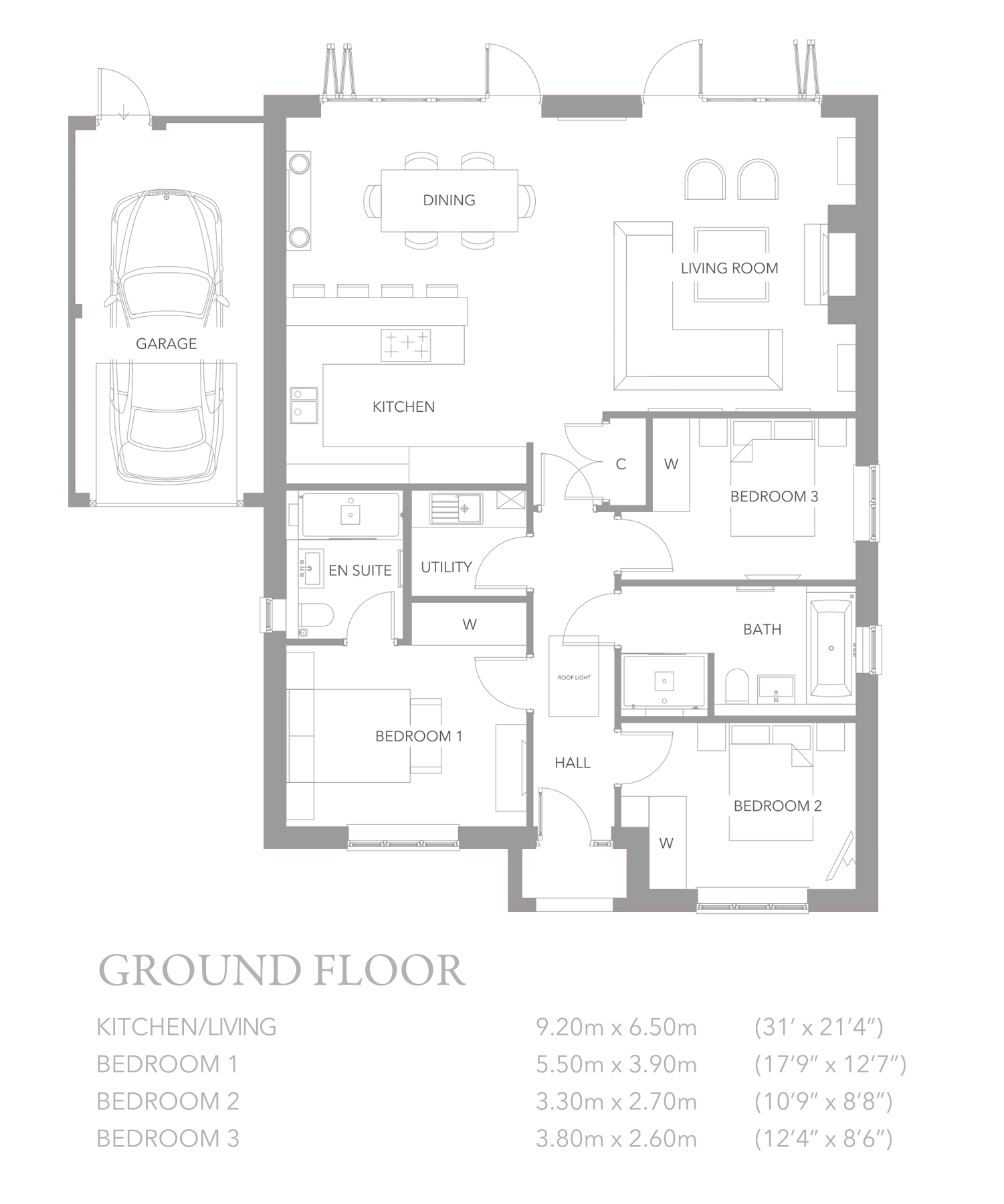 Belmont court new homes bookham concept developments for Find plot plan online