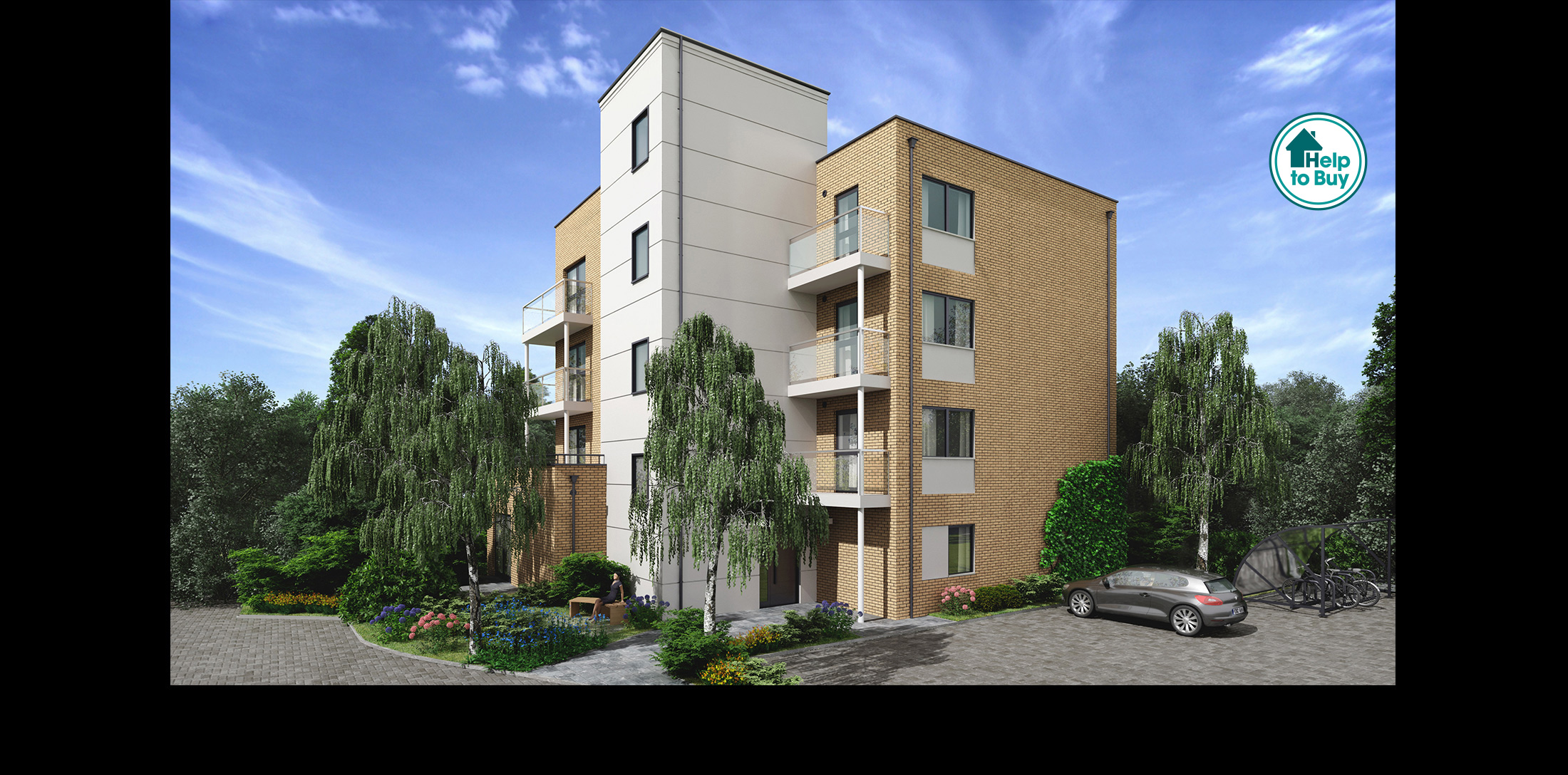 Arlington lodge new homes whyteleafe concept developments for New concept homes